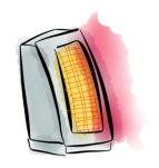 space-heater