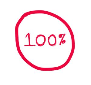 percent-100