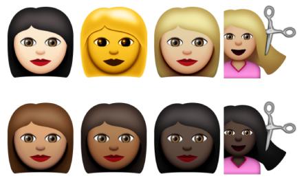 emoji long hair | WorstPlans com updates every Monday!