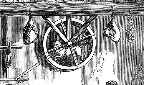 turnspit-dog-ancient-times