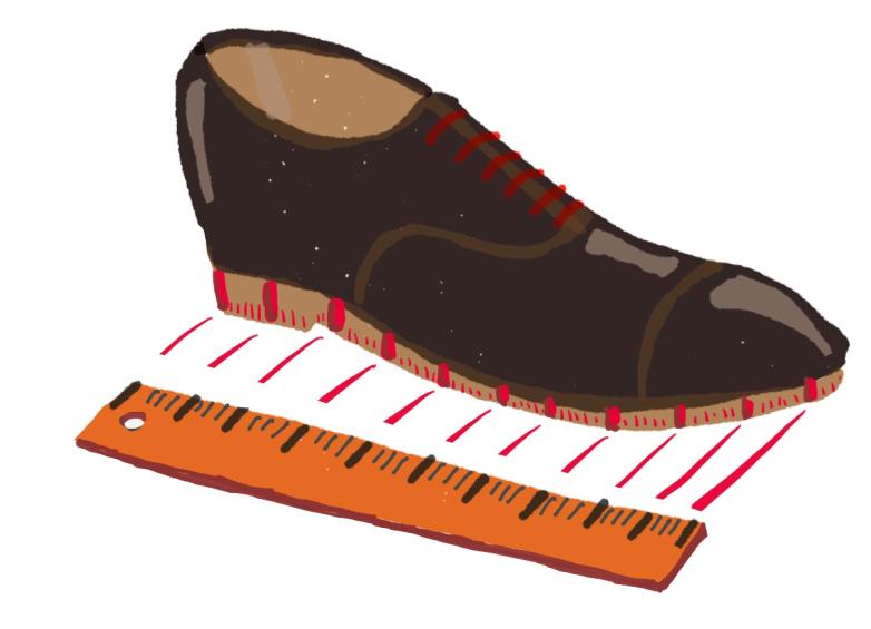 shoe-ruler