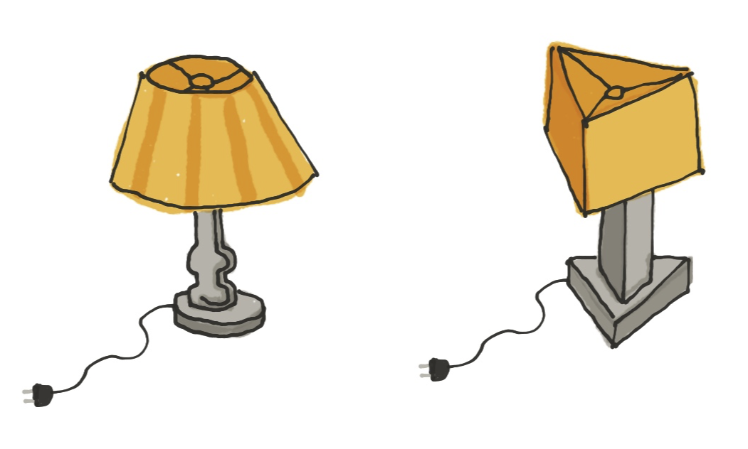 lamp-low-poly