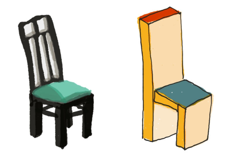 low-poly-chair